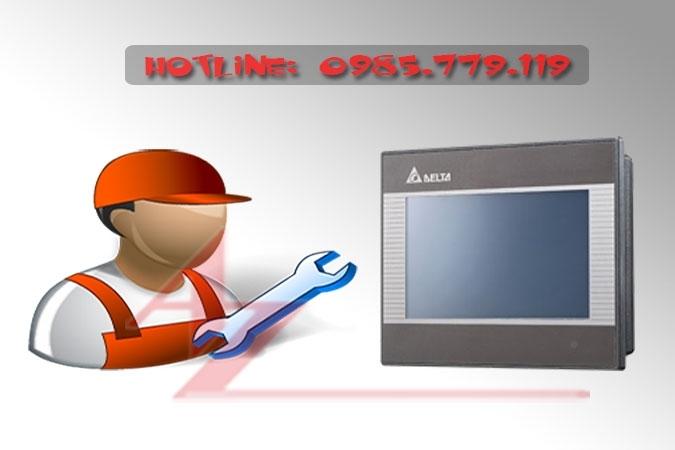 Sửa chữa màn hình HMI Delta